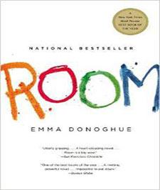 کتابی با جلد سفید رنگ که کلمه اتاق با رنگهای نارنجی ، قرمز، سبز و آبی نوشته شده است