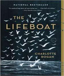 کتابی با جلد سورمهای و تصویر دریا و تعداد زیادی پرنده دریایی سفید رنگ بر روی آن